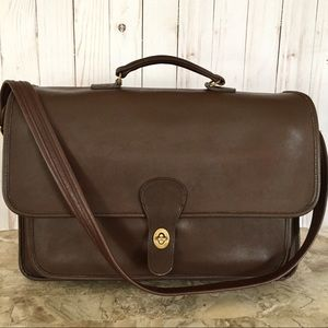 VTG COACH MESSENGER BRIEFCASE PORTFOLIO CROSSBODY